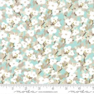 Kate & Birdie Lullaby - Bloom in Cloud Aqua