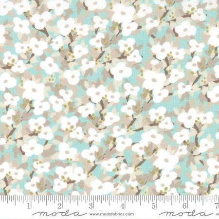 Kate & Birdie Lullaby - Bloom in Cloud Aqua