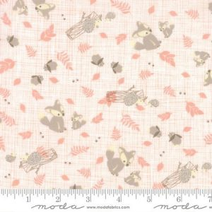 Kate & Birdie Lullaby - Woodland Critters Peach