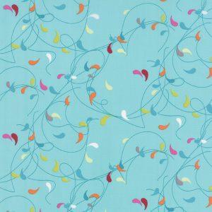 Zen Chic Flow - Splash in Teal