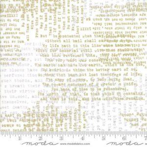 Zen Chic Modern Backgrounds Luster - Shakespere in White