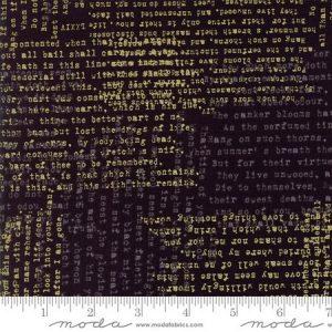 Zen Chic Modern Backgrounds Luster - Shakespear in Black
