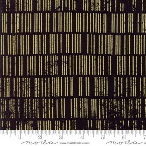 Zen Chic Modern Backgrounds Luster - Scales in Black