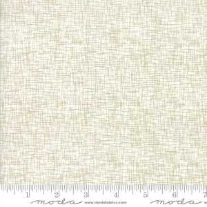 Zen Chic Modern Backgrounds Luster - Grid in White