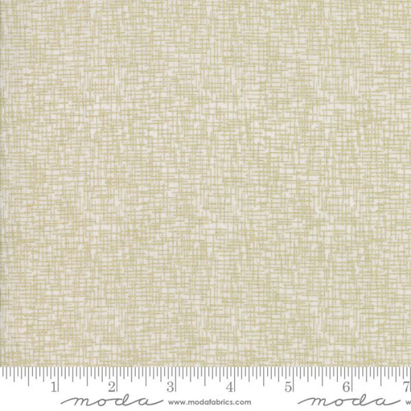 Zen Chic Modern Backgrounds Luster - Grid in Fog