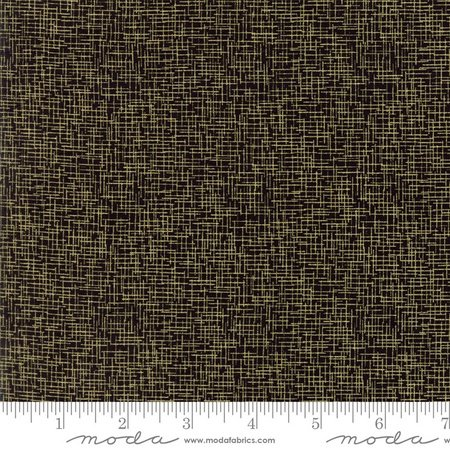 Zen Chic Modern Backgrounds Luster - Grid in Black