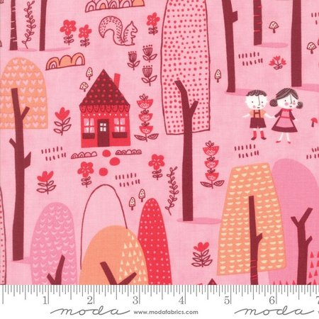 Stacy Iest Hsu Just Another Walk in the Woods - Childrens Forest Dark Pink