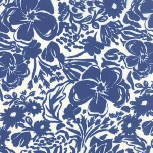 Moda Paradiso - Floral Rhapsody in Cloud Blue