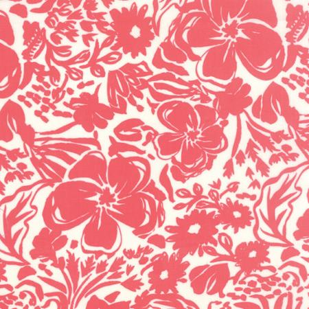Moda Paradiso - Floral Rhapsody in Coral