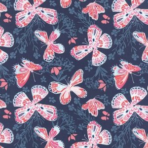 Kate Spain Aria - Butterfly in Navy