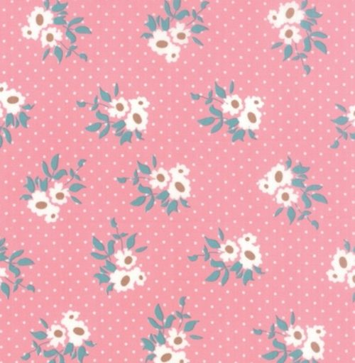 Moda Kindred Spirit - Mini Floral in Pink