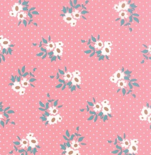 Moda Kindred Spirit - Mini Floral in Pink