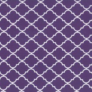 Moda Quattro - Quaterfoil in Purple by Studio M