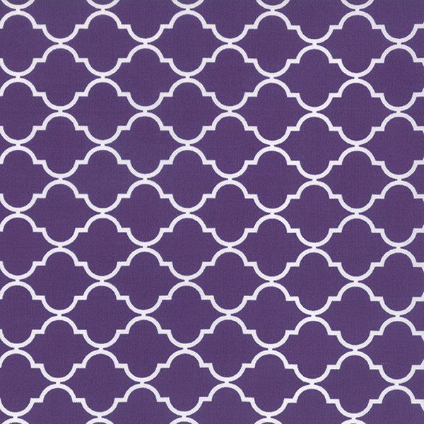 Moda Quattro - Quaterfoil in Purple by Studio M