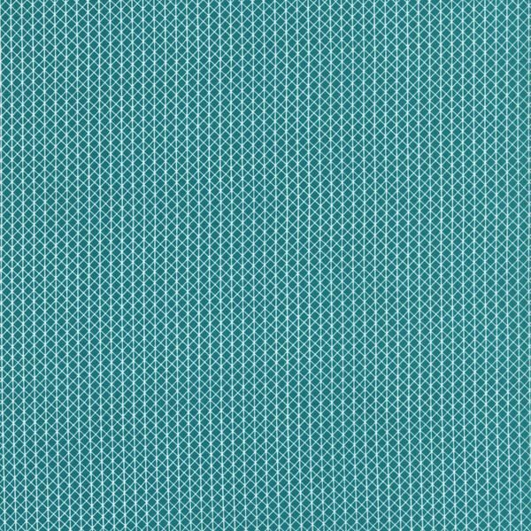 Cotton and Steel Basics - Netorious in Teal
