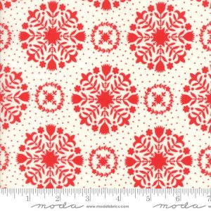 Bonnie & Camille Handmade - Olivia in Red Cream