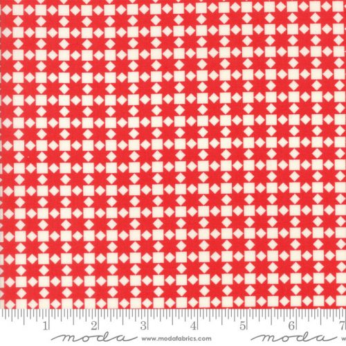 Bonnie & Camille Handmade - Star Quilt in Red