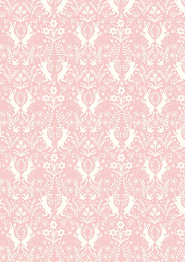 Lewis & Irene Sailsbury Spring - Little Hares Pink