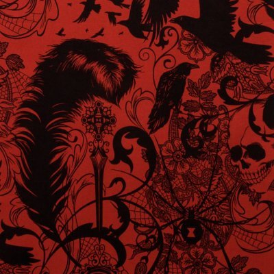 Alexander Henry Nicole's Prints After Dark in Red
