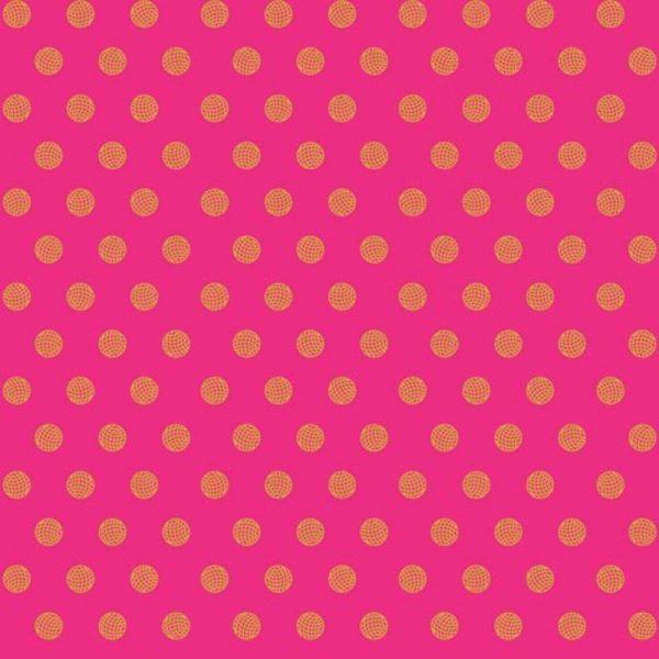 Alison Glass Sun Print 2016 - Sphere in Ruby