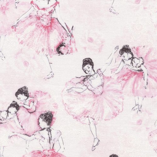 Timeless Treasures Ballet - Ballerina in Blush