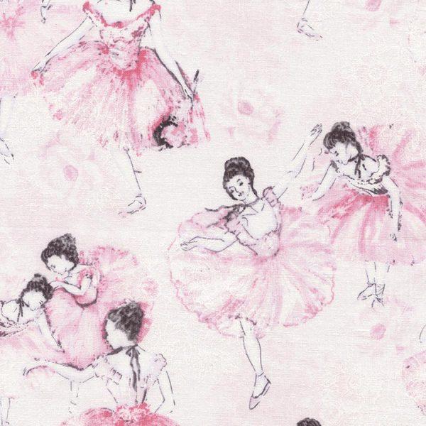 Timeless Treasures Ballet - Ballerina in Blush