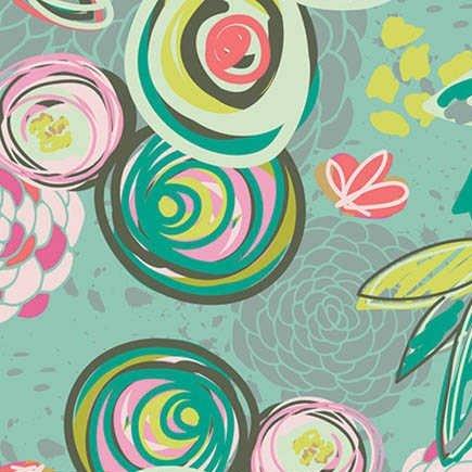 Caroline Hulse Chalk & Paint - Sprayed Blossom in Bright