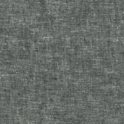 Robert Kaufman - Essex Yarn Dyed LINEN in Black