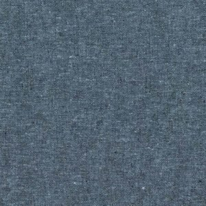 Robert Kaufman - Essex Yarn Dyed LINEN in Nautical