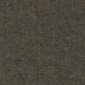 Robert Kaufman - Essex Yarn Dyed Linen Metallic - Black