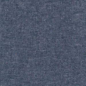 Robert Kaufman - Essex Yarn Dyed Linen Metallic - Midnight