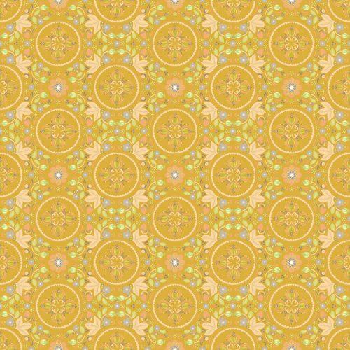 Shauna Scicluna Forest Fable - Secret Garden in Mustard