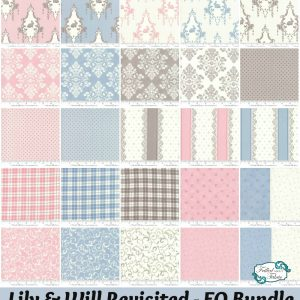 Moda Lily & Will Revisited Collage - FQ Bundle