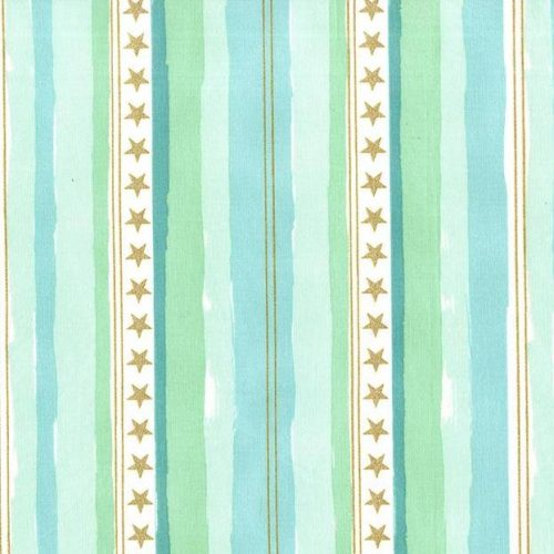 Sarah Jane Magic - Stars and Stripes in Aqua