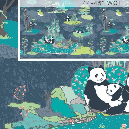 Art Gallery Pandalicious Pandagarden Naptime