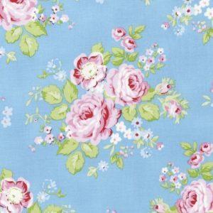 Tanya Whelan Rambling Rose - Rambling Rose in Blue