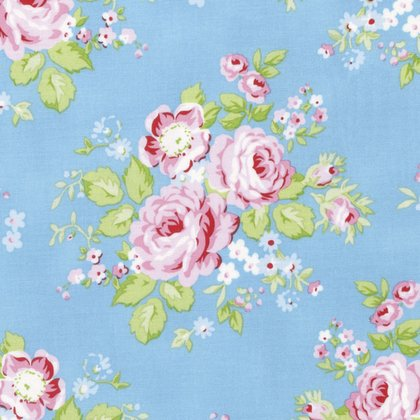 Tanya Whelan Rambling Rose - Rambling Rose in Blue