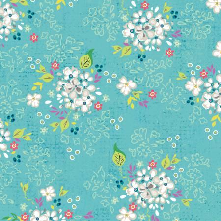 Adorn It - GiGi Blooms - T-00624 Fresh Blooms Lagoon