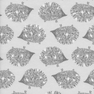 Sarah Watts Sleep Tight - Prickles in Grey