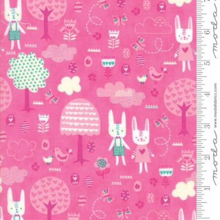 Moda Spring Bunny Fun - The Great Hunt in Pink