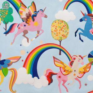 Alexander Henry - Monkey Bizness Magic Rainbow Sky