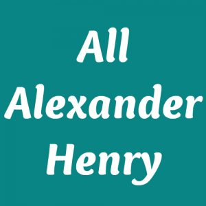 All Alexander Henry