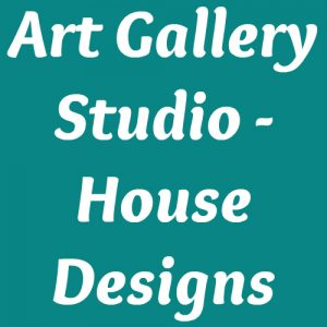 Art Gallery Studio - House Designs