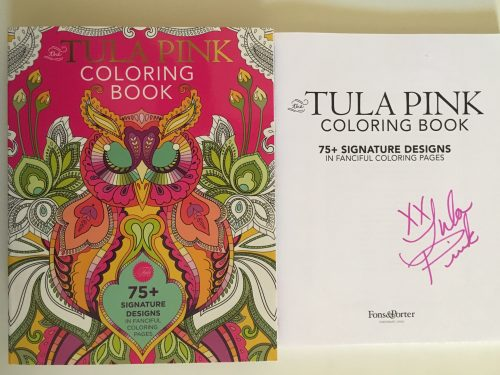 Tula Pink Colouring Book - Signed