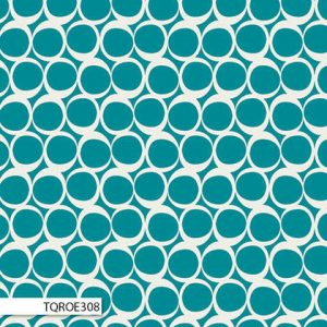 Art Gallery - Round Elements Vintage Teal