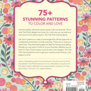 Tula Pink Colouring Book Back