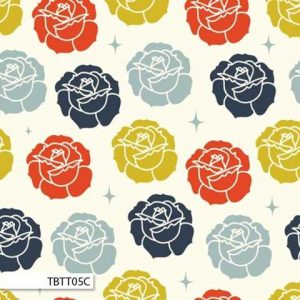 Birch - Tall Tales - Stamped Rose Cream