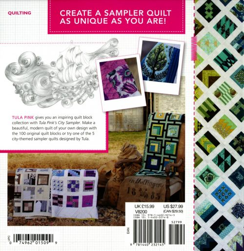 Tula Pink City Sampler - 100 Modern Quilt Blocks