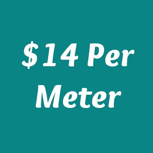 $14 Per Meter