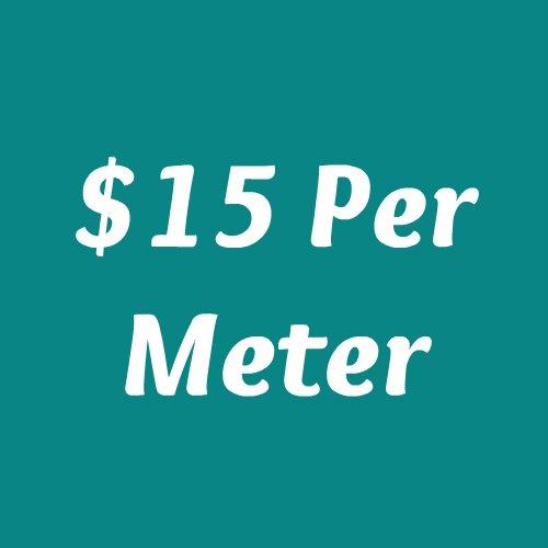 $15 Per Meter